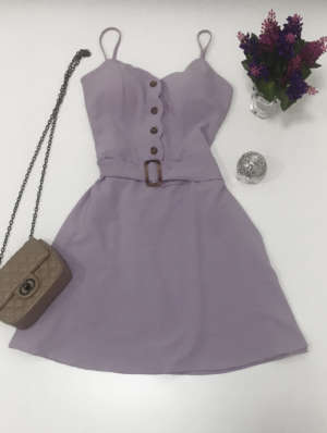 lavinnystore.com.br vestido botoes lavanda