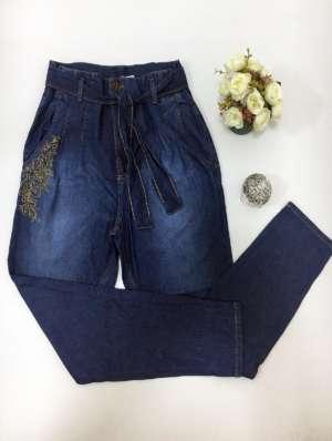 lavinnystore.com.br calca jeans com amarracao