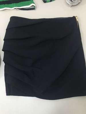 lavinnystore.com.br short saia com pregas preto 1
