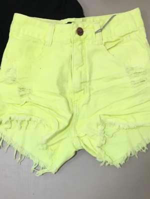 lavinnystore.com.br short jeans neon 1