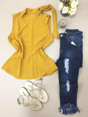 lavinnystore.com.br blusa gola alta com botoes