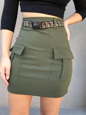 lavinnystore.com.br saia preta com cinto fl verde militar 2