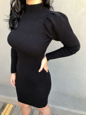 lavinnystore.com.br vestido midi manga princesa preto 10