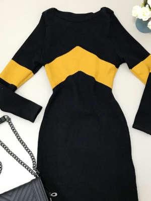 lavinnystore.com.br blusa tricot decote v preta 2
