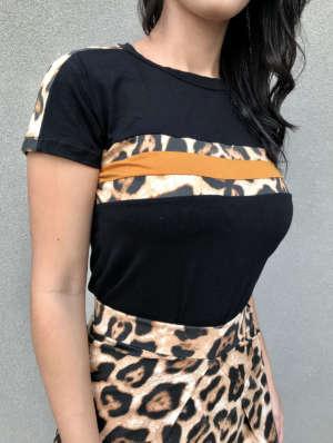 lavinnystore.com.br t shirt faixas animal print preta 16