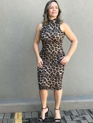 lavinnystore.com.br vestido midi canelado animal print 5