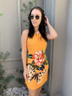 lavinnystore.com.br vestido tricot manga princesa tricolor 3