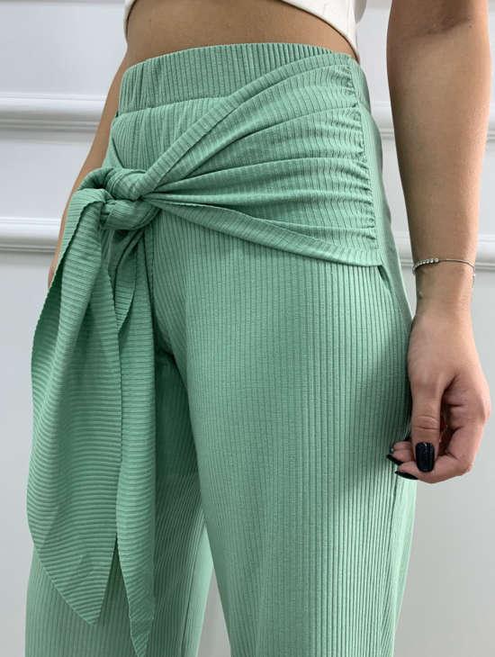 lavinnystore.com.br calca pantacourt canelada amarracao verde menta 16