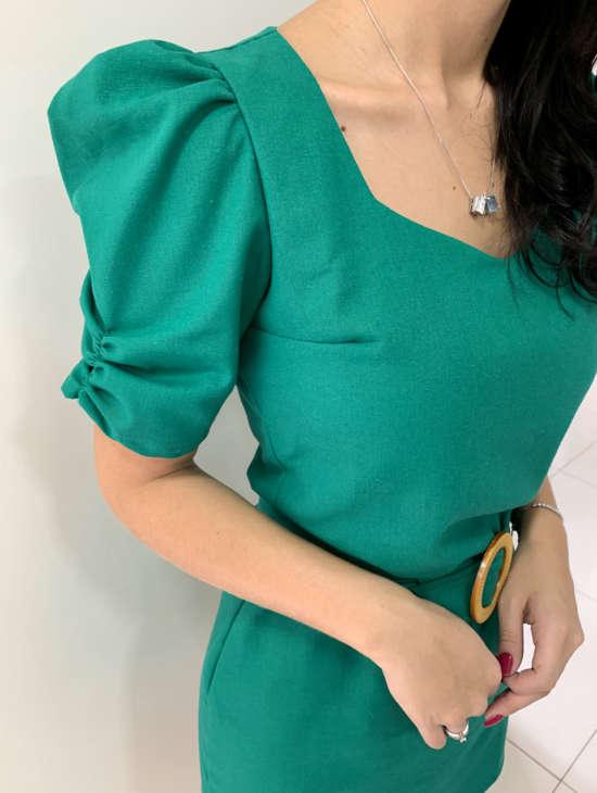 lavinnystore.com.br conjunto manguinha princesa geometrico verde menta 2