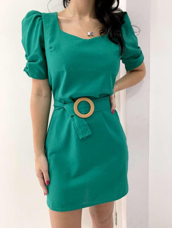 lavinnystore.com.br conjunto manguinha princesa geometrico verde menta