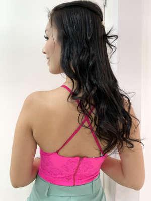 lavinnystore.com.br short saia neoprene fendas cinto fivela pink 12