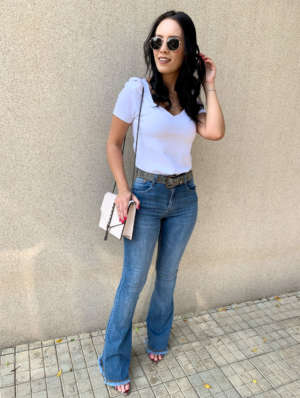 lavinnystore.com.br t shirt canelada manga princesa azul jeans 16