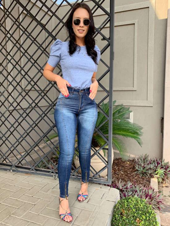 lavinnystore.com.br t shirt canelada manga princesa azul jeans 17