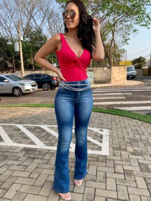 lavinnystore.com.br t shirt canelada manga princesa azul jeans 19