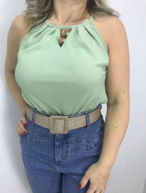 lavinnystore blusa gola alta decote v aplicacoes verde menta 7