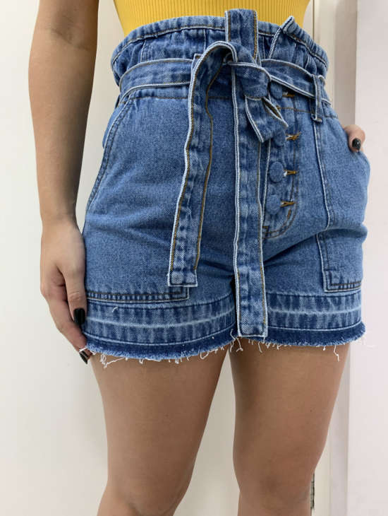 lavinnystore.com.br short jeans clochard botoes cinto tratto 4