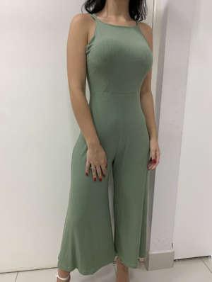 lavinnystore vestido longo frente unica decote v transpassado lastex floral verde menta 11